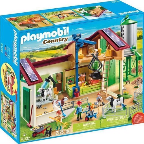 Image of Playmobil 70131 Bondegård Med Dyr
