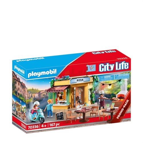 Image of Playmobil 70336, pizzeria (4008789703368)