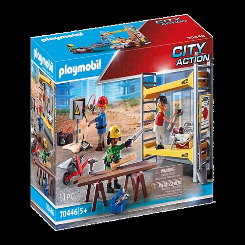 Image of Playmobil - Scaffold (70446) (4008789704467)