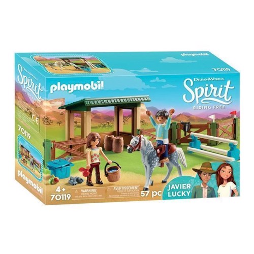 Image of Playmobil Spirit 70119 Arena med Lucky og Javier