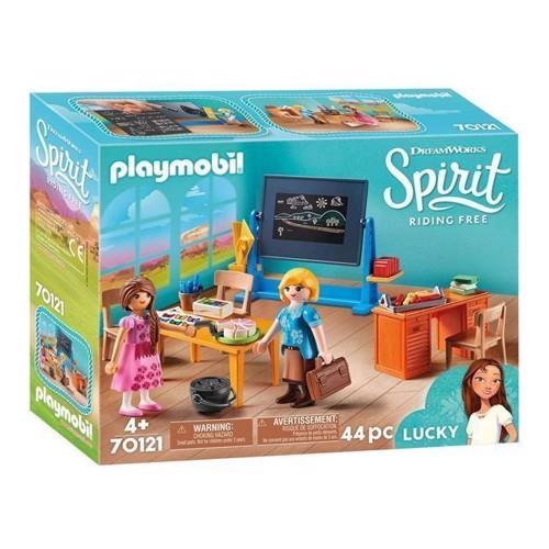 Image of Playmobil Spirit 70121 Mrs Flores klasseværelse
