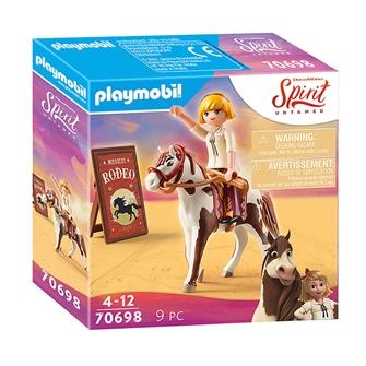 Image of Playmobil Spirit 70698 Rodeo Abigail (4008789706980)