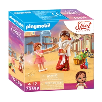 Image of Playmobil Spirit 70699 Young Lucky Milagro (4008789706997)
