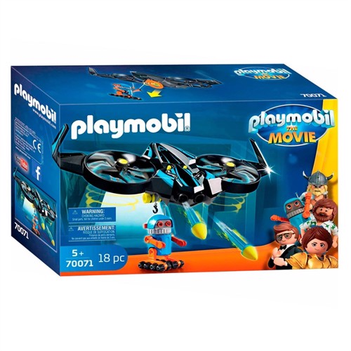 Image of Playmobil The Movie 70071 Robot Itron Med Drone