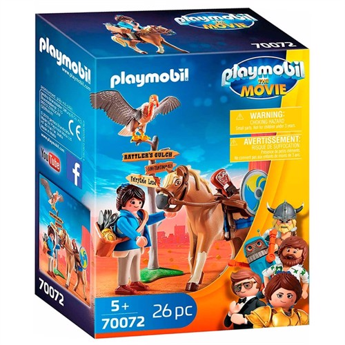 Image of Playmobil The Movie 70072 Marla Med Hest