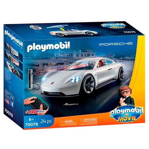 Image of Playmobil The Movie 70078 Rex Dashers Porsche Mission