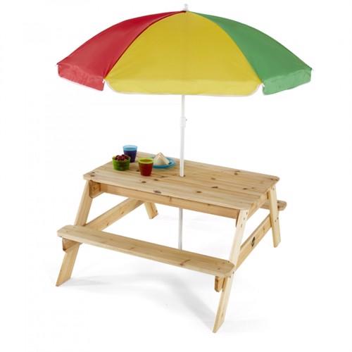 Image of Plum Træ Børnehavebord Med Parasol