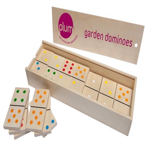 Image of Plum Træ Domino Sæt Til Haven
