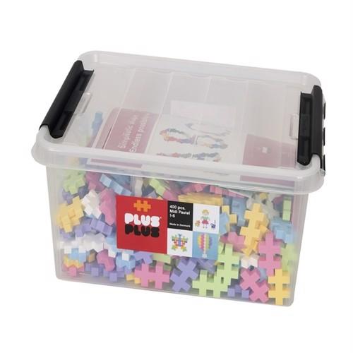 Image of Plus Plus - BIG Pastel - 400 pc (3247) (5710409200138)