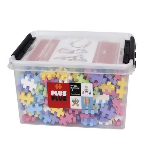 Image of Plus Plus - BIG Pastel - 600 pc (3248) (5710409200394)