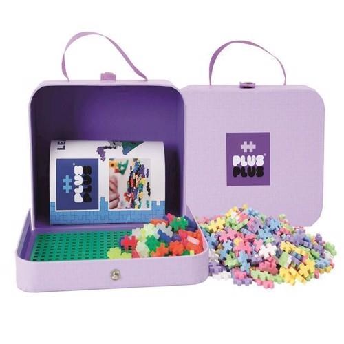Image of Plus Plus mini - Kuffert i Pap - Lilla