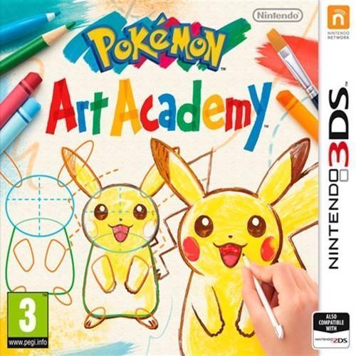 Image of Pokemon Art Academy - Nintendo 3Ds