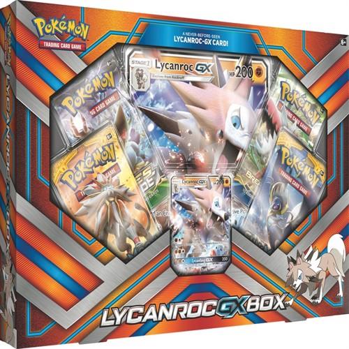 Image of Pokemon lycanroc gx box