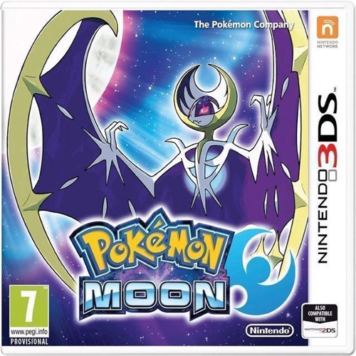 Image of Pokemon Moon Nordicuk - Nintendo 3Ds