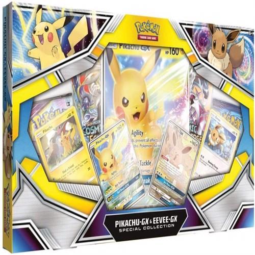 Image of Pokemon Pikachu Eevee gx specialbox