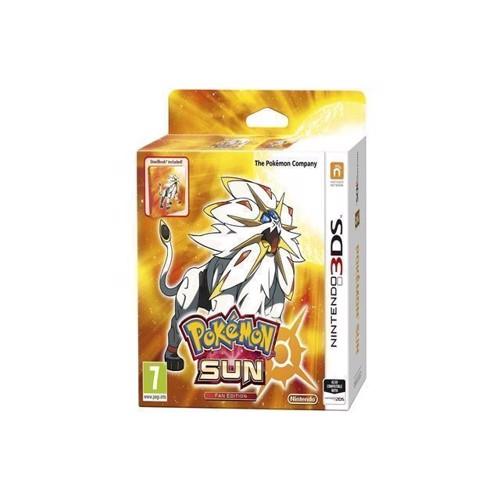 Image of Pokemon Sun Fan Edition - Nintendo 3DS (0045496473709)