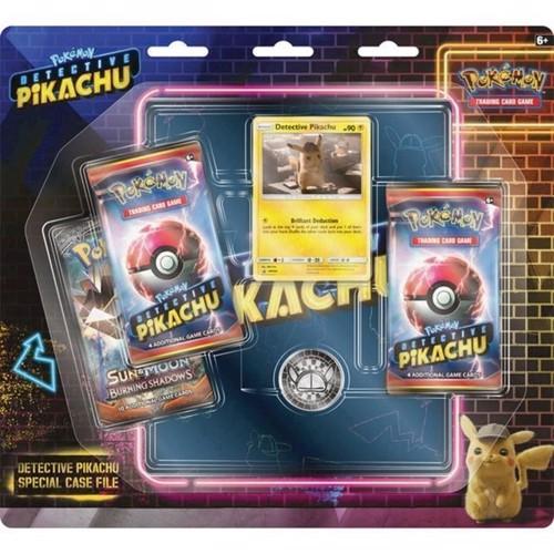 Image of Pokemon, Poke Box, Detektiv Pikachu GX, inkl mappe. POK80627 (0820650806278)