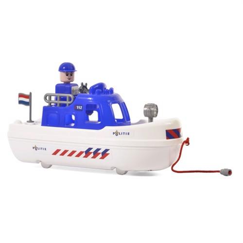 Image of Wader hollandsk politi båd