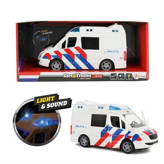Image of Police bus with Light and Sound (8719905234152)