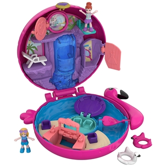Image of Polly Pocket Pocket World oppustelig Flamingo (887961638202)