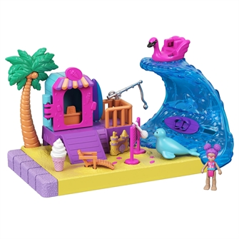 Image of Polly Pocket - Beach Party (0887961918243)