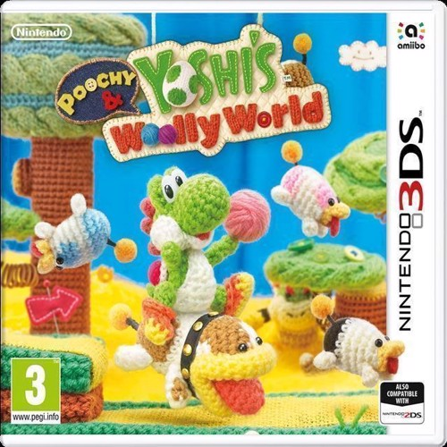 Image of Poochy And Yoshis Wooly World - Nintendo 3Ds
