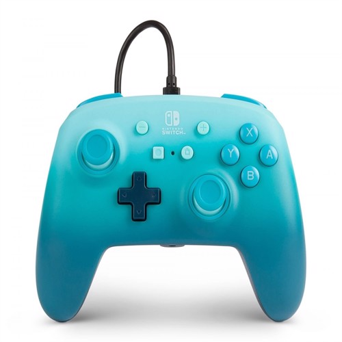 Image of PowerA Nintendo Switch Enh Wired Controller - Aquatic Fantasy - Nintendo Switch (0617885024603)