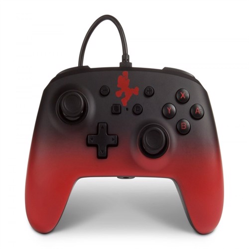 Image of PowerA Nintendo Switch Enh Wired Controller - Mario Fade - Nintendo Switch (0617885021794)
