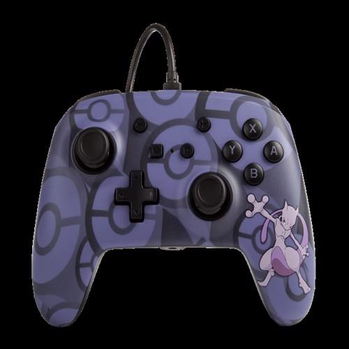 Image of PowerA Pokemon Wired Controller Nintendo Switch - Mewtwo - Nintendo Switch (0617885020278)