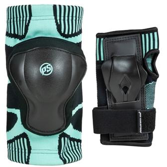 Image of Powerslide Onesize Dual Pack beskyttelsessæt til piger (4040333522370)