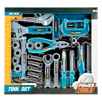 Image of Power Tools Tool set, 30 pcs. (8714627380217)