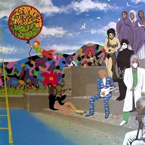 Image of Prince - Around The World In A Day - Vinyl (0075992528610)