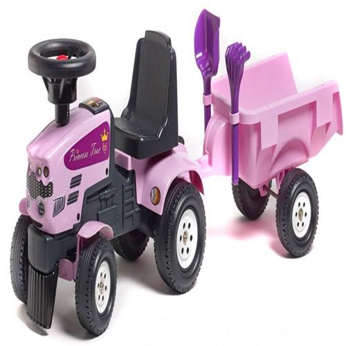 Image of Prinsesse Gå Traktor Med Trailer
