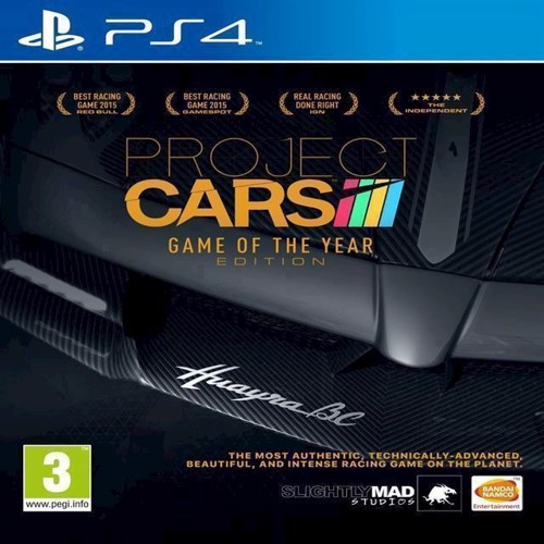 Image of Project Cars - Game of the Year - PS4 (3391891988780)