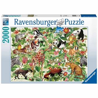 Image of Puzzle Jungle, 2000st. (4005556168248)