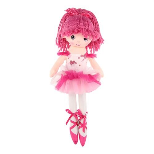 Image of Kludedukke, ballarine, 40 cm, Pink