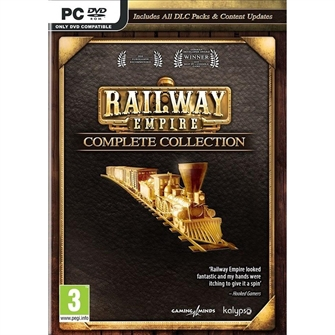 Image of Railway Empire (Complete Collection) - PS4 (4260458361771)