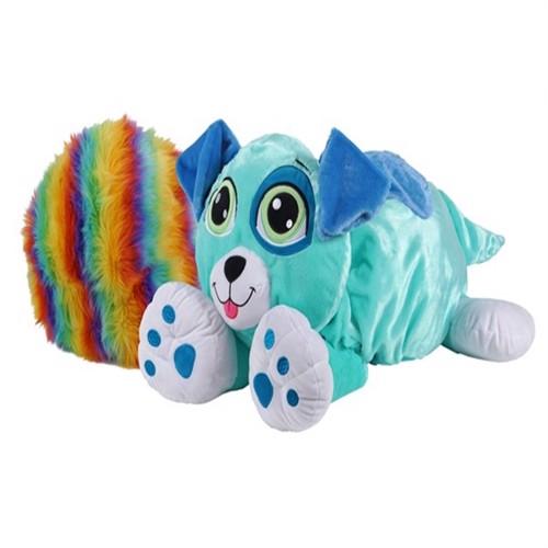 Image of Rainbow Fluffies, blå hund (0818937026938)