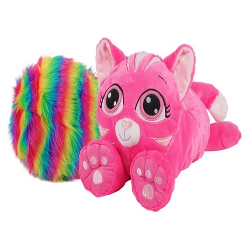 Image of Rainbow Fluffies, Pink kat (0818937026976)