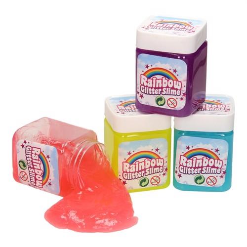 Image of Rainbow Glitter Slime (8711866243488)
