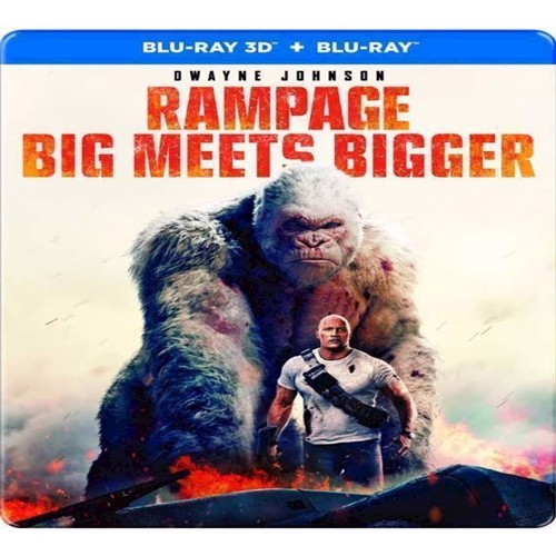 Image of Rampage Dwayne Johnson Limited Steelbook Blu-Ray (7340112745554)