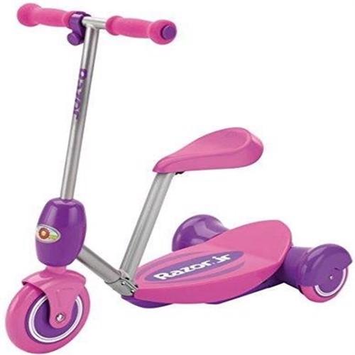 Image of Razor elektrisk løbehjul Lil E, sæde, lyserød (0845423016104)