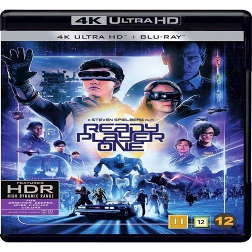 Image of Ready Player One 4K Blu-Ray (7340112744601)