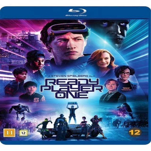 Image of Ready Player One Blu-ray (7340112744540)