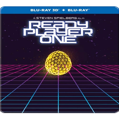 Image of Ready Player One - Steelbook, 3D Blu-ray (7340112744595)