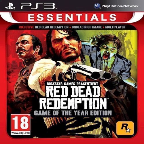 Image of Red Dead Redemption Game Of The Year Essentials - Ps3 (5026555418621)