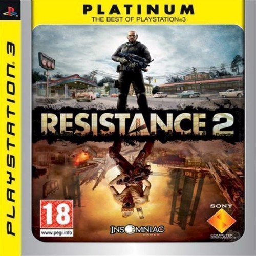 Image of Resistance 2 Platinum - PS3 (0711719115359)