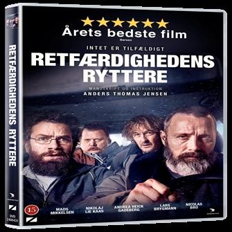 Image of Retfærdighedens Ryttere DVD (5708758725521)