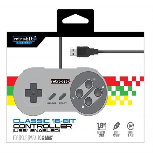 Image of   Retro Bit Classic 16 Bit Cont Usb
