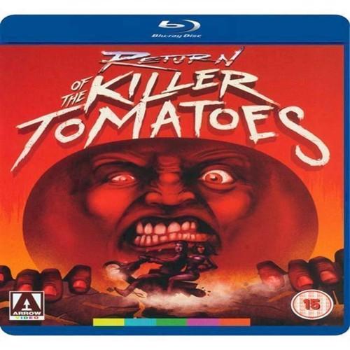 Billede af Return of the Killer Tomatoes DVD Blu-ray